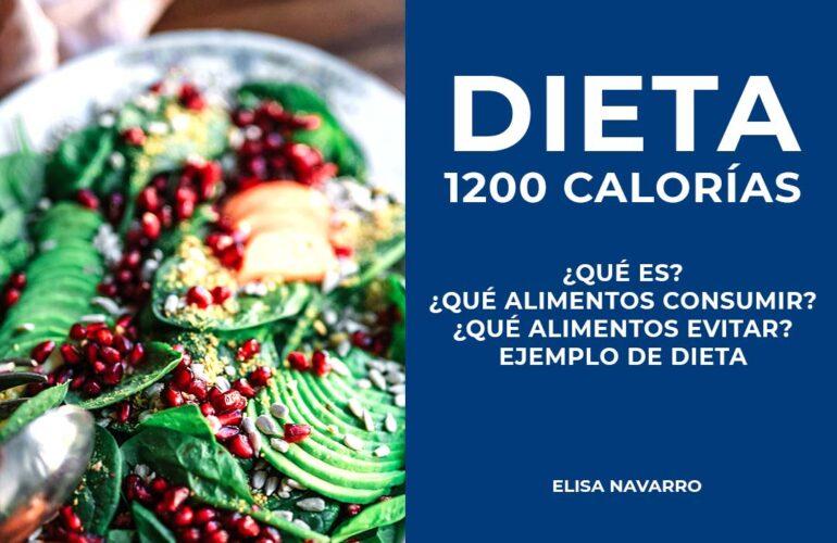 Dieta 1200 calorías