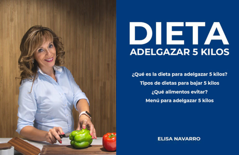 dieta adelgazar 5 kilos