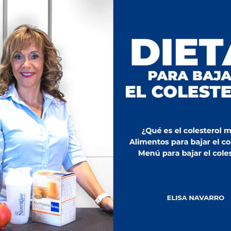 dieta bajar colesterol nutricare