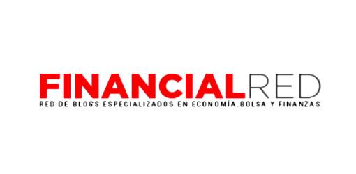 logo financial red