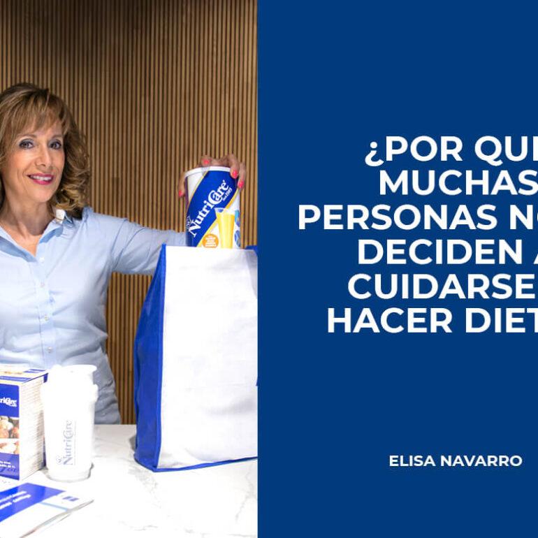 muchas personas no se deciden a cuidarse y hacer dieta